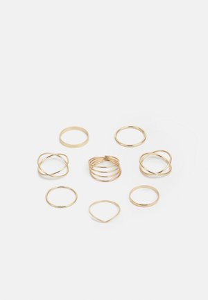 CLEAN 8 PACK - Ring - gold-coloured