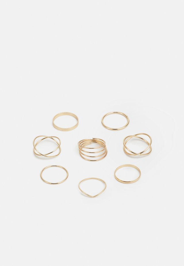 CLEAN 8 PACK - Bague - gold-coloured