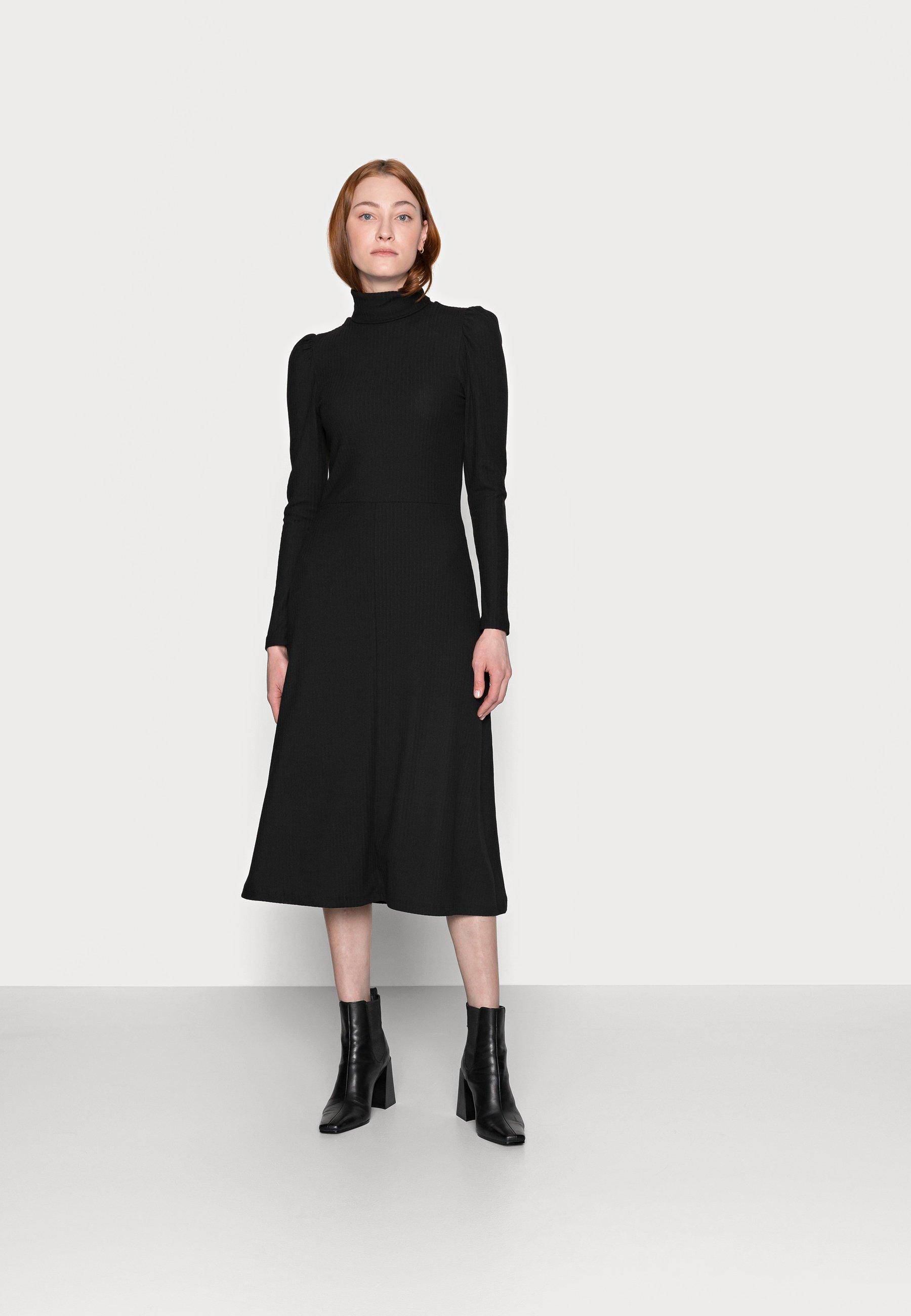 Women ONLNELLA ROLL NECK DRESS - Jumper dress