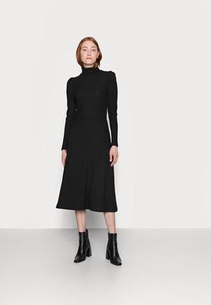 ONLNELLA ROLL NECK DRESS - Jumper dress - black
