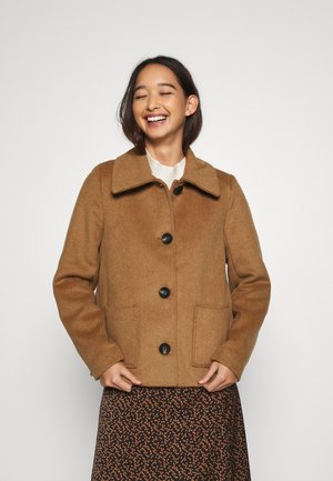 ONLALLY ISLA JACKET - Light jacket - camel/melange