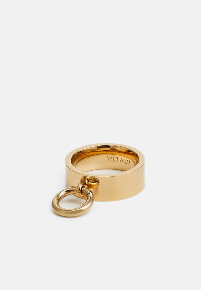 HINGE  UNISEX - Bague - gold-coloured