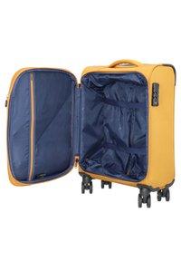 Cocoono - DEVOTION - Wheeled suitcase - saffron - 4