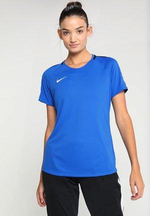 DRY - Print T-shirt - royal blue/obsidian/white