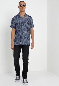 Burton Menswear London - USED - Slim fit jeans - black - 1