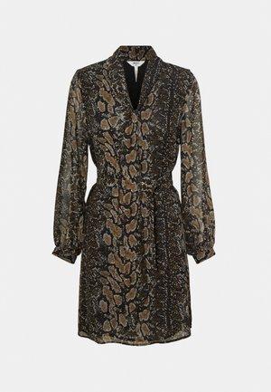 OBJANNA SHORT DRESS - Vestido informal - black