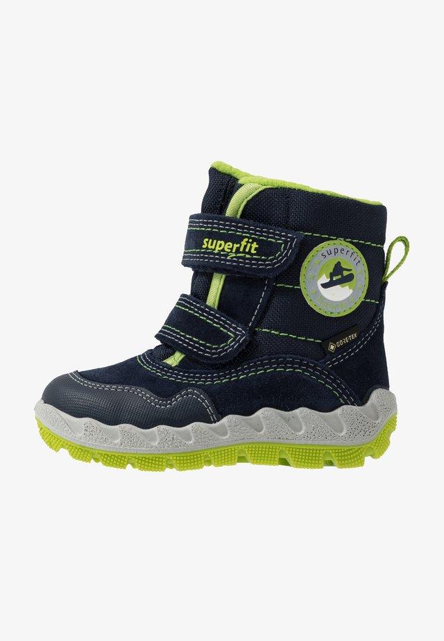 ICEBIRD - Zimní obuv - blau/grün