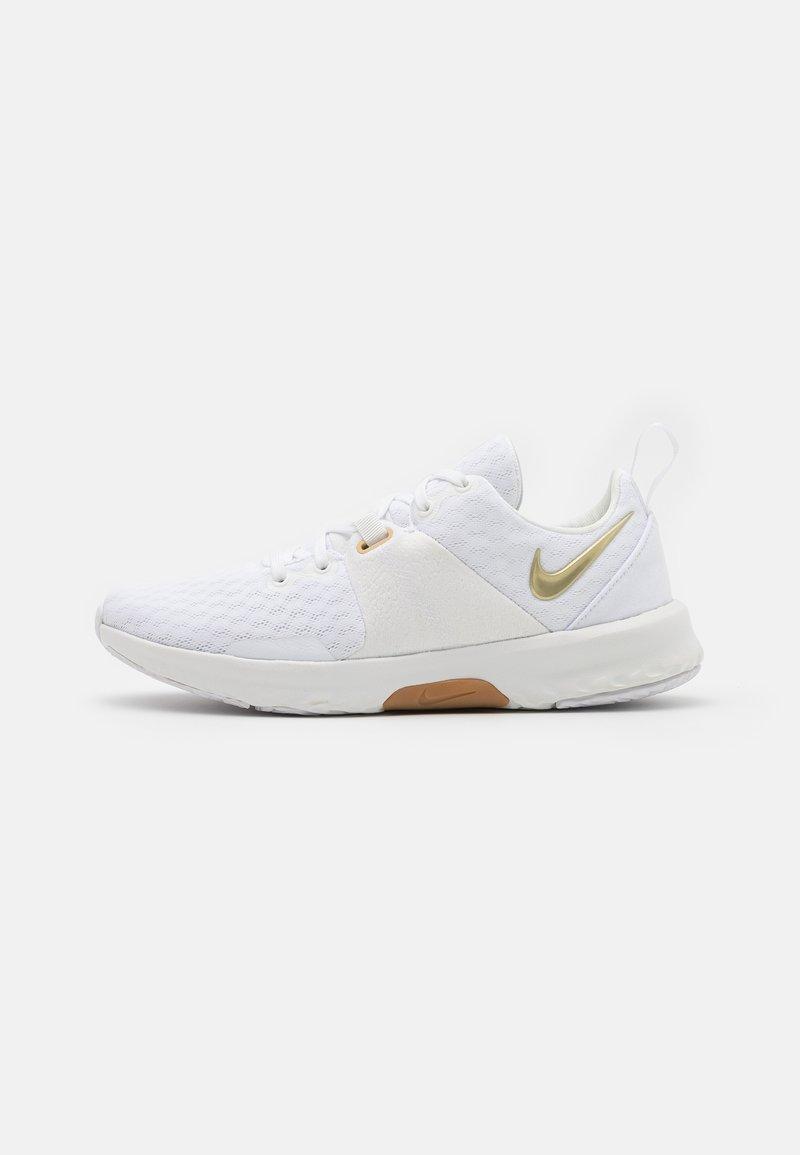 Nike Performance - CITY TRAINER 3 - Sportschoenen - white/metallic gold star/summit white/sesame