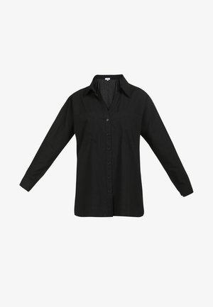 BLUSE - Camicia - schwarz