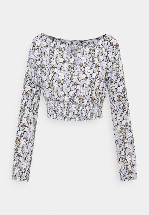 ONLPELLA BOW - Long sleeved top - black/pastel