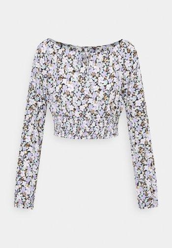 ONLPELLA BOW - Long sleeved top - black/pastel