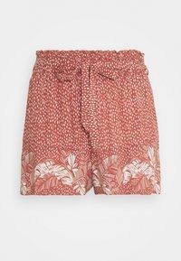 women'secret - PALM BELT SHORT - Pyjama bottoms - red - 4