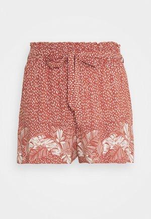 PALM BELT SHORT - Bas de pyjama - red