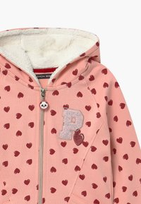 Lemon Beret - SMALL GIRLS  - Zip-up hoodie - coral cloud - 2
