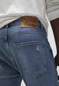 PULL&BEAR - Jeans slim fit - stone blue denim - 4