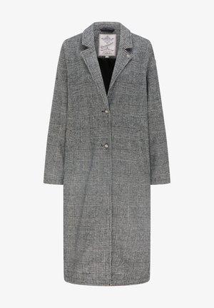 Zimní kabát - glencheck schwarz