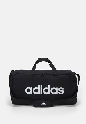 LINEAR DUFFEL UNISEX - Weekendveske - black/white