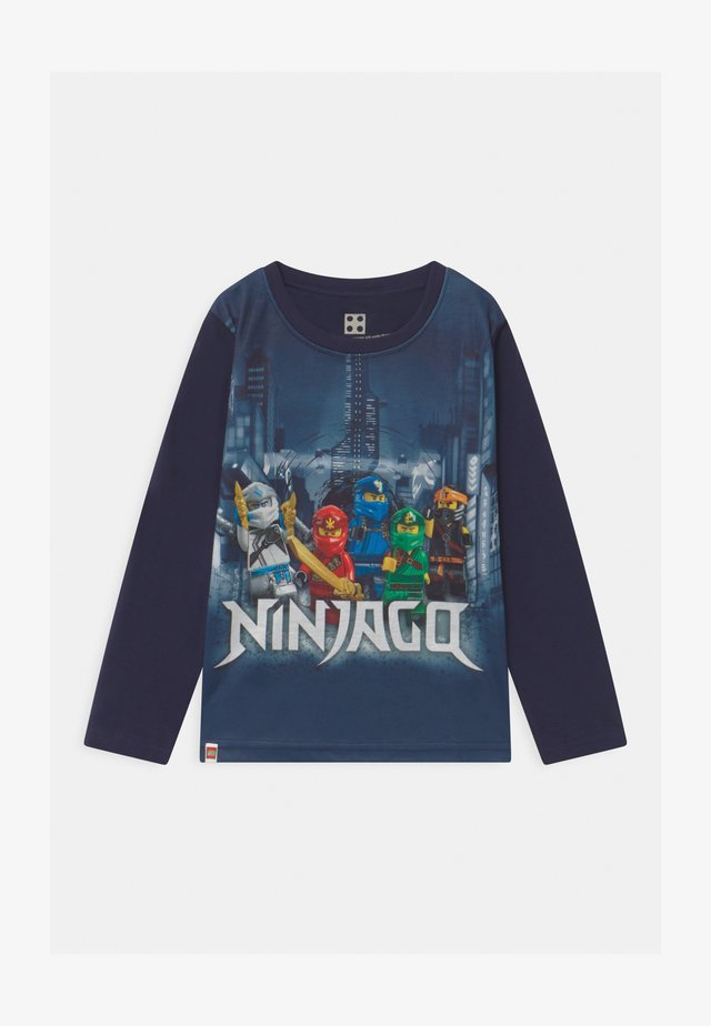 Camiseta de manga larga - dark navy