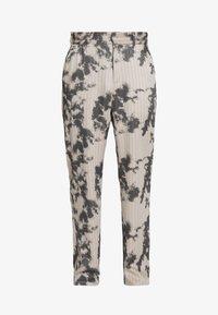 Jaded London - BLEACHED PINSTRIPE TROUSER - Trousers - grey - 4