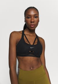 Nike Performance - INDY ULTRABREATHE BRA - Sujetador deportivo - black - 0