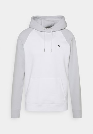 Sweatshirt - grey blocked