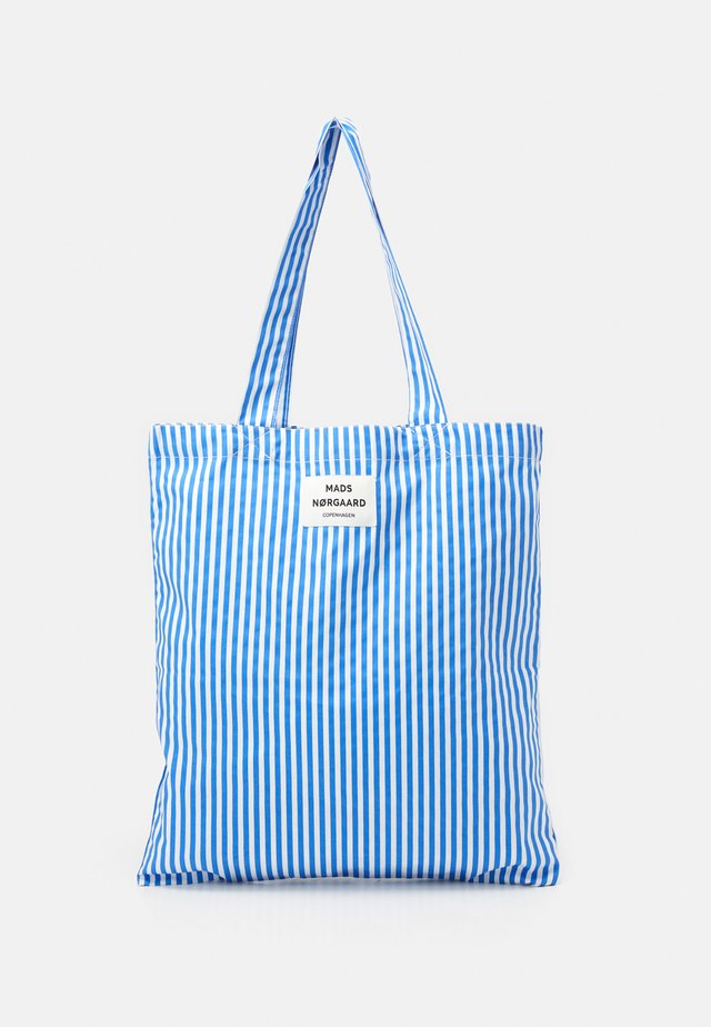 SOFT ATOMA - Shoppingveske - blue/white