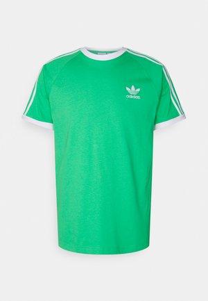 STRIPES TEE - Print T-shirt - semi screaming green
