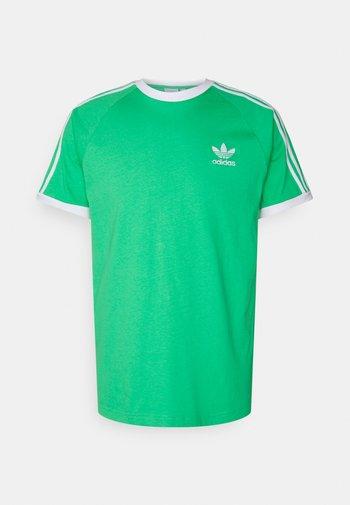 STRIPES TEE - T-shirt con stampa - semi screaming green