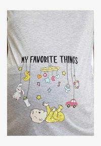 DeFacto - Print T-shirt - grey - 2