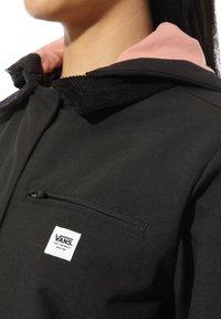 Vans - WM DRILL LONG CHORE COAT MTE - Classic coat - black - 2