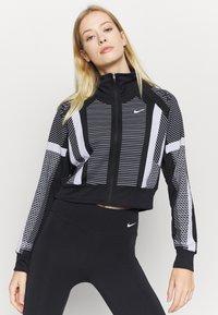 Nike Performance - Trainingsvest - black/white/metallic silver - 0