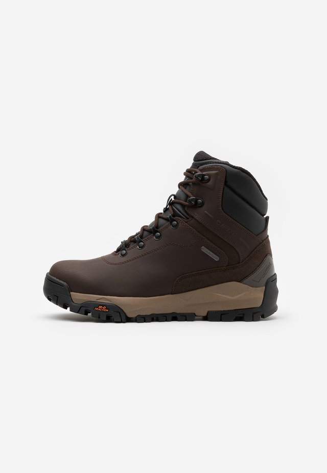 ALTITUDE INFINITY MID WP - Scarpa da hiking - chocolate/black