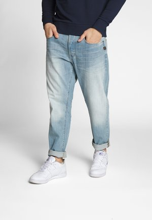 LOIC RELAXED TAPERED - Relaxed fit jeans - cyan