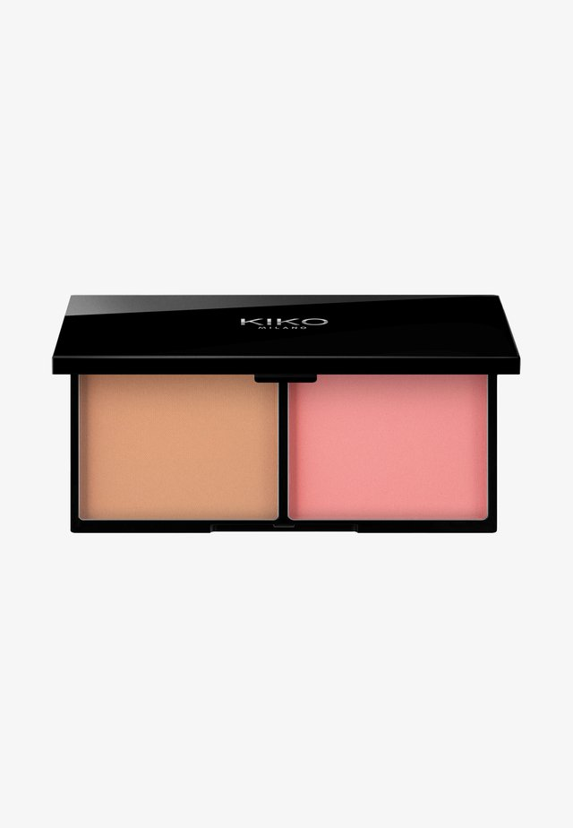 SMART BLUSH AND BRONZER PALETTE - Sminkpalett - 02 biscuit and coral