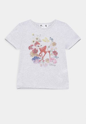 DISNEY BAMBI LICENSE SHORT SLEEVE TEE - Triko s potiskem - summer grey