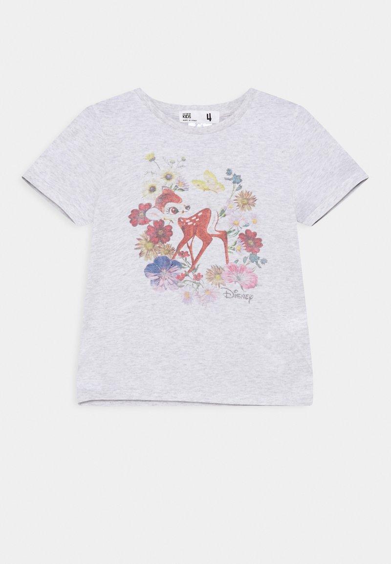 Cotton On - DISNEY BAMBI LICENSE SHORT SLEEVE TEE - Print T-shirt - summer grey