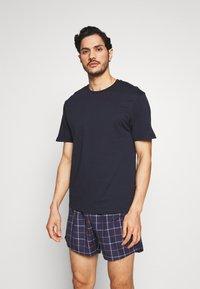 Pier One - SET - Pyjama - dark blue - 0
