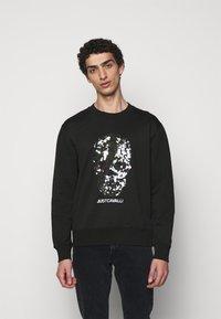 Just Cavalli - FELPA - Sweatshirt - black - 0