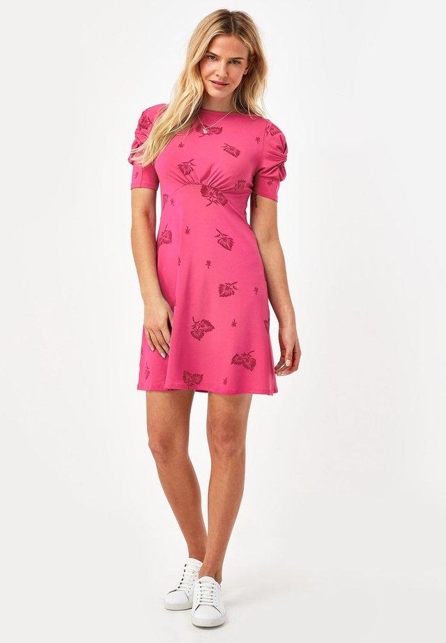 Žerzejové šaty - pink
