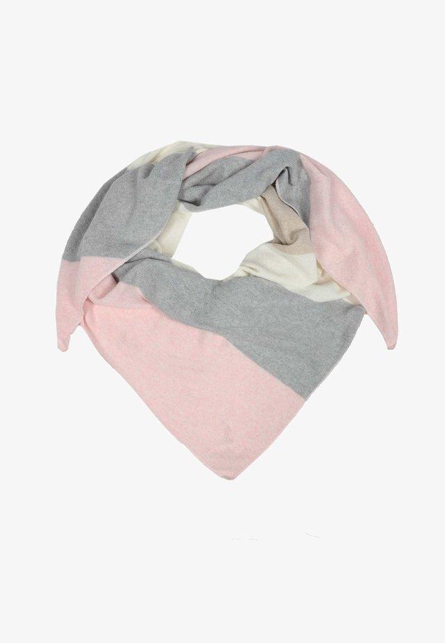 Foulard - rosa combo