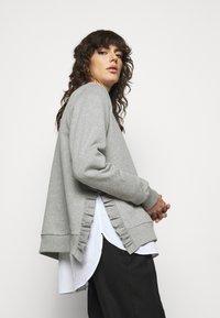 Bruuns Bazaar - RUBINE - Sweatshirt - light grey melange - 3