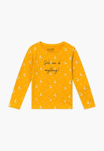 KIDS GIRLS CAN DO ANYTHING FLORAL - Long sleeved top - dotter