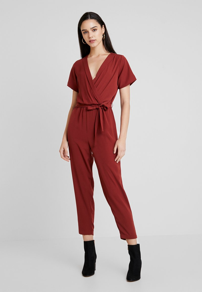 Even&Odd - Tuta jumpsuit - dark red