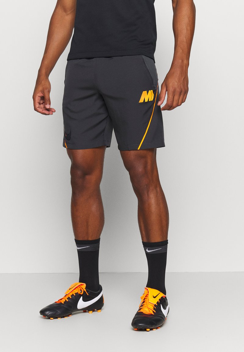 Nike Performance - DRY  - Sports shorts - dark smoke grey/total orange