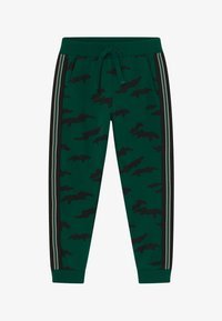 Lindex - MINI TROUSERS STREET PANEL - Tracksuit bottoms - dark green - 2