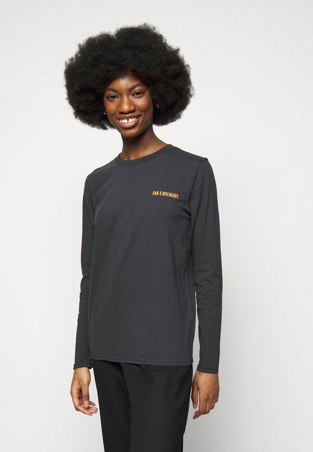 CASUAL LONG SLEEVE TEE - Långärmad tröja - faded black