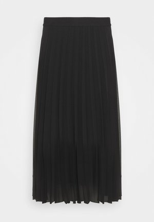 PLISSEE - Pleated skirt - noir