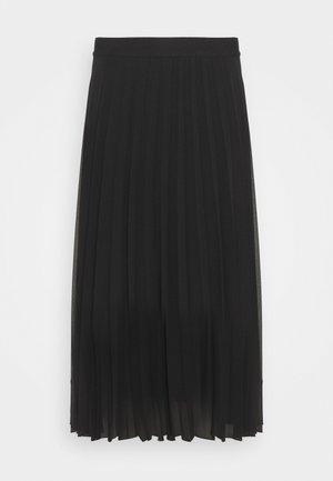 PLISSEE - Jupe plissée - noir