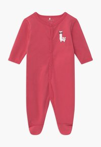 Name it - NBFNIGHTSUIT ALPACA 2 PACK - Kruippakje - claret red - 2