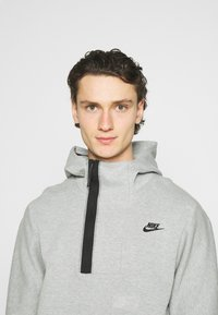 Nike Sportswear - Hoodie -  grey heather/black - 3